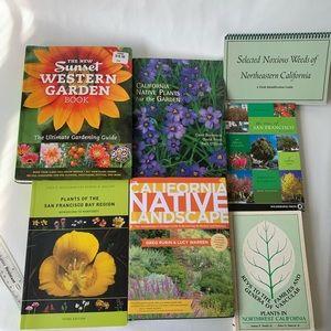 Gardening books (California, San Francisco Bay)